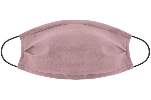 Maseczka zakrywająca twarz jednokolorowa