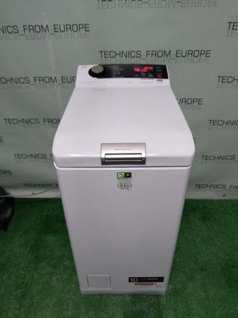 Узкая стиральная машина AEG 7000 series, вертикалка, 40 см