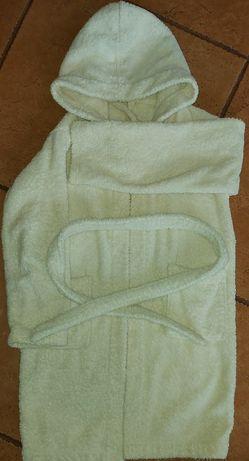 Szlafrok Tchibo z bawełny. Stan bdb