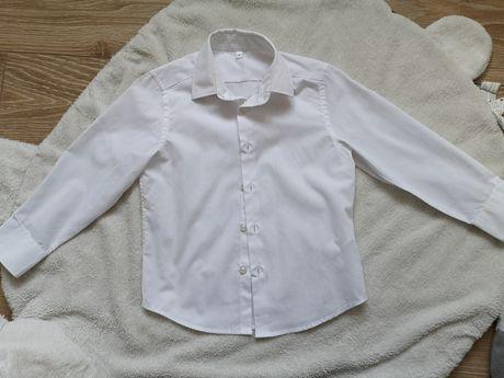 Koszula biała 98 nowa