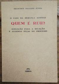quem é réu? francisco salgado zenha, 1971