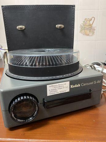 Projetor Kodak Carousel S-AV