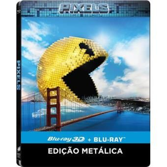 Pixels - Blu-Ray 3D - SteelBox Edition