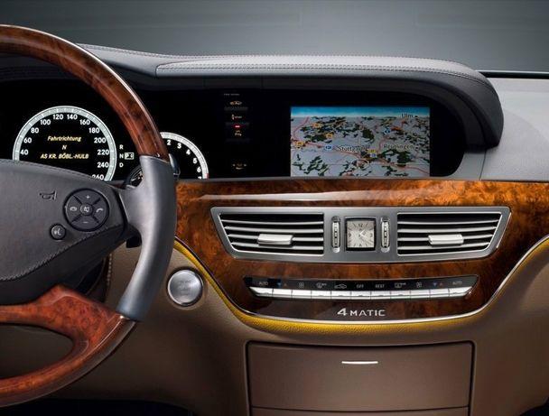 Nowość Mapa nawigacji Mercedes NTG3 2019 V17 S klasa W220 W221 CL C216