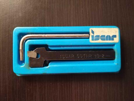 Iscar SGTHR-10-2 Samozaciskowy nóż tokarski + płytka (Izrael)