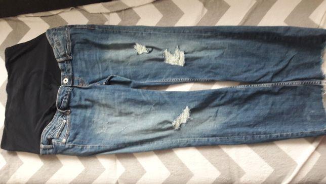 Spodnie jeansy ciazowe H&M roz.42