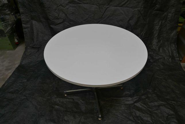 Mesa branca 1 m de diâmetro