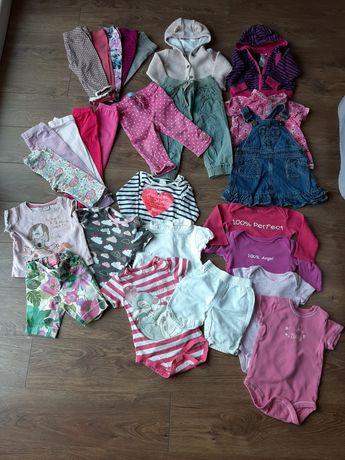 Ubranka dla dziewczynki 9-12mcy, 80, firmowe, zestaw, gratis wysyłka
