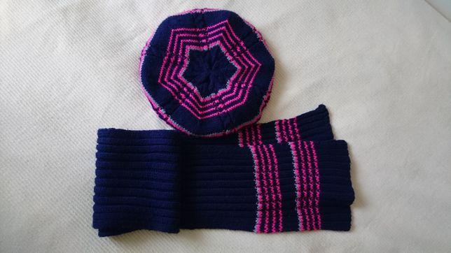 Берет (шапка) утепленный и шарф Raster р.50-52