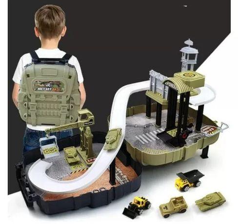Детский игровой набор Военная база в рюкзаке Military Base Special For