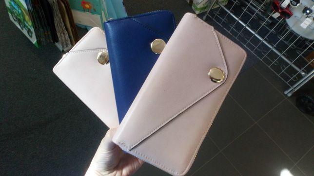 Nowy portfel damski 3 kolory śliczny dobra jakość elegancka zawieszka