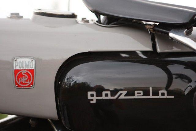 Motocykl Zabytkowy GAZELA SHL M17