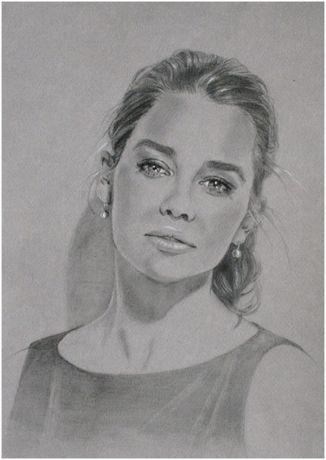 Portret, rysunek na zamówienie