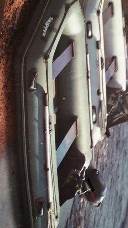 Лодка с документами SKIPER новая с жёстким  дном. Двигатель HONDA  нов