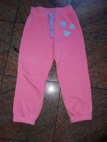 spodnie dresowe dziewczęce r.116