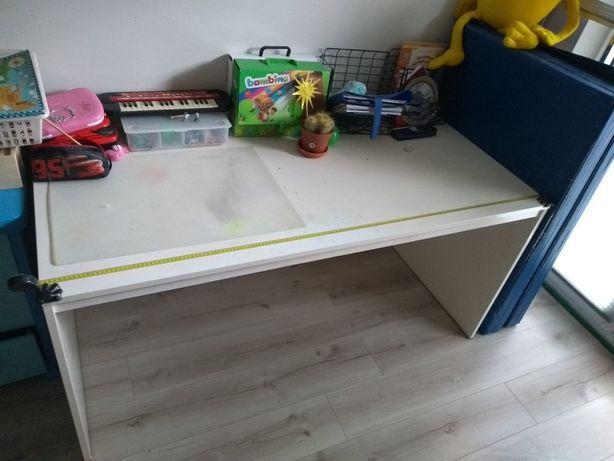 Biurko duże białe Ikea