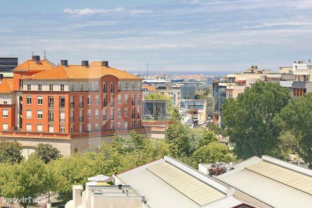 Apartamento T1 no Centro da Cidade de Aveiro com Lugar de Garagem e Va