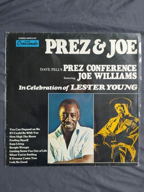 """Vinyl Prez&Joe """"In celebration of Lester Young"""" LP"""