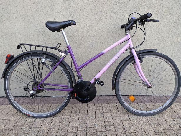 Rower Damka Różowy, 26 cali koła