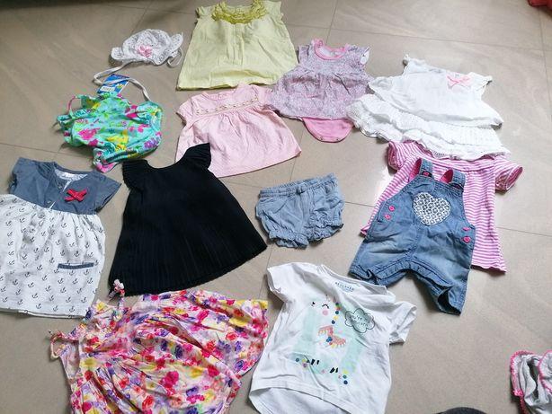Ubranka dziewczynka r 62-68