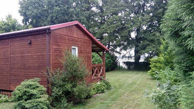 domek dla 2 osób prywatna działka z bezpośrednim dostępem do jeziora