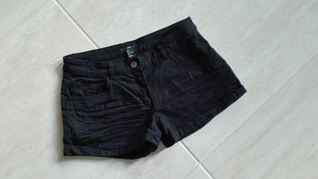 H&M spodenki szorty jeansowe 36 S