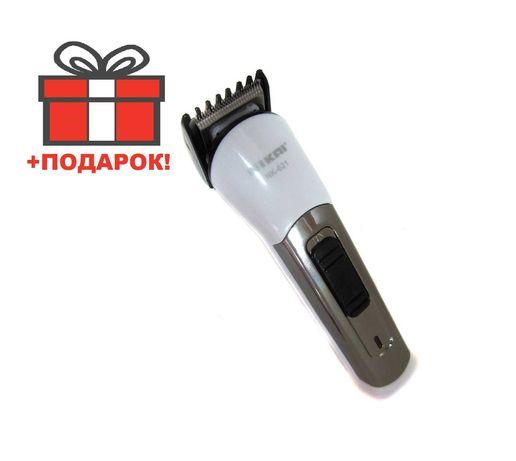 Беспроводная машинка для стрижки волос Триммер Nikai NK-621AB Тример