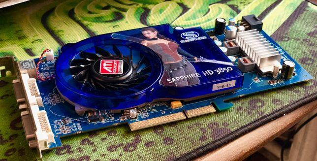 """""""AGP"""" ATi Sapphire Radeon HD 3850, 512Mb, 256bit"""