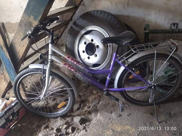 Rower dziewczęcy