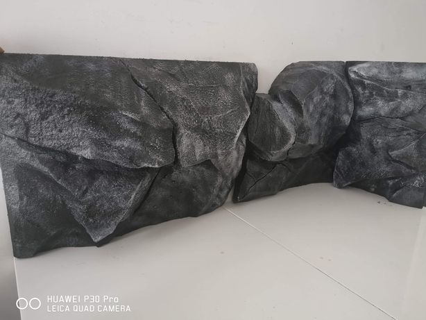 Tła strukturalne 3d do akwarium, moduły imitacje skały