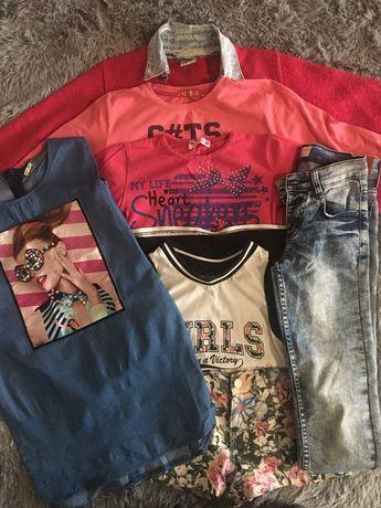 Продам пакет с одеждой для девочки 134р