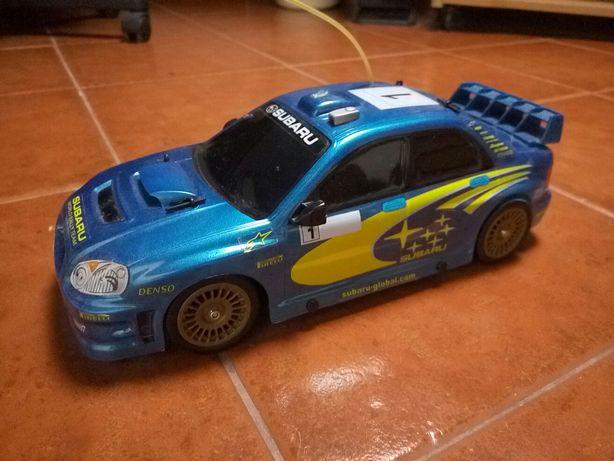 Subaru wrc rc modelismo, controlo remoto, telecomandado