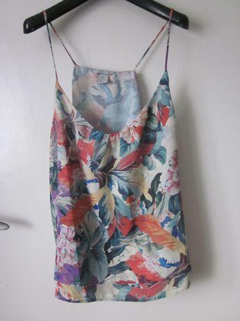 Modny top H&M kwiatowy wzór 46