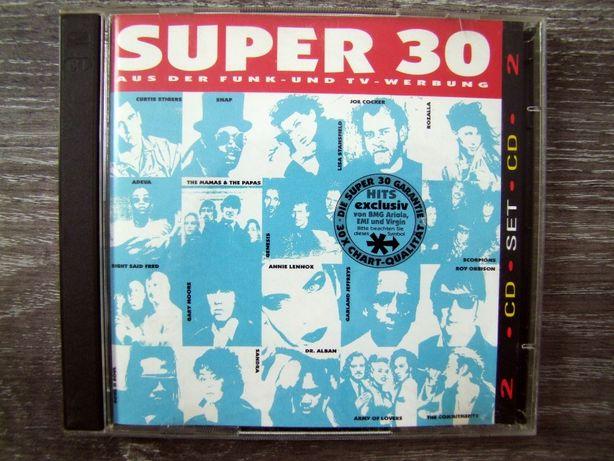 SUPER 30 Składanka 2CD Scorpions, Genesis, Joe Cocker, Tina Turner,itp