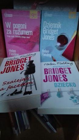 Bridget Jones Helen Fielding cztery książki