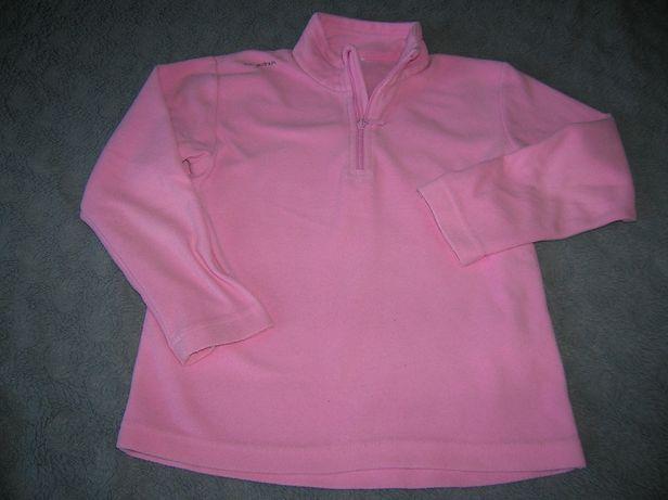 bluza, polarek dla dziewczynki Decathlon r.110/116