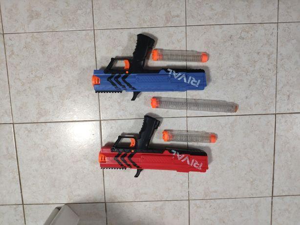 Nerf rival apollo pack + balas ou nem separado