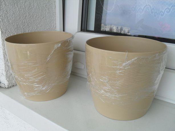 Doniczki okrągłe średnica 15,5 cm