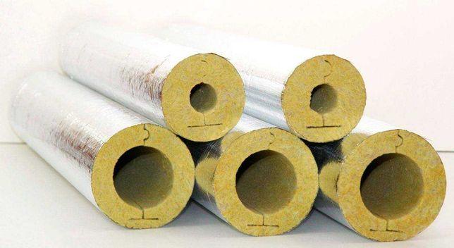 Цилиндры, утеплитель для труб, Минеральная вата для откосов 20 30 мм