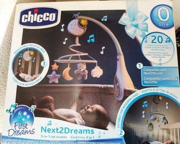 Chicco next2dreams luz e música