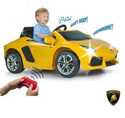 Feber - Carro eletrico Lamborghini Aventador 6V com Rádio Control