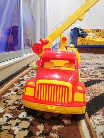 Кран игрушечный машинка