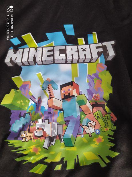Nowy dres chłopięcy Minecraft roz. 140-146
