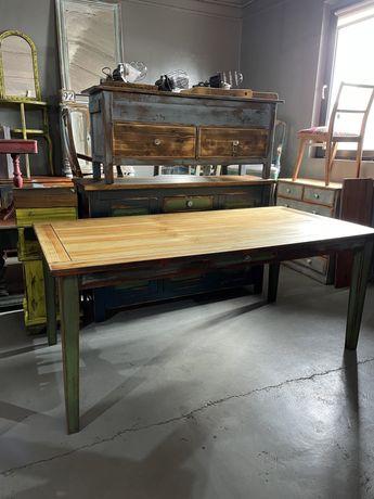 Meblownia duzy drewniany stół M 654