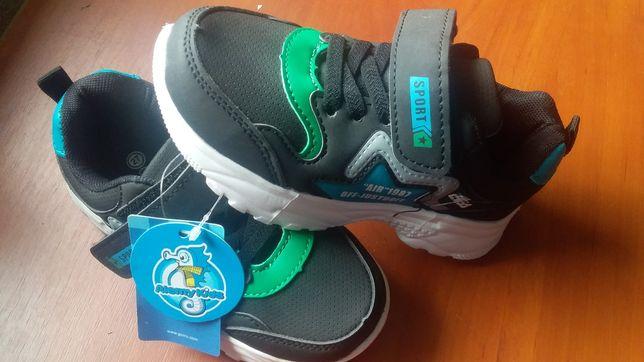 нові кросівки для хлопчика, розмір 27