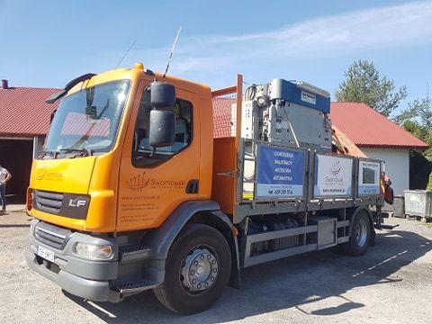 Samochód ciężarowy HDS wynajem
