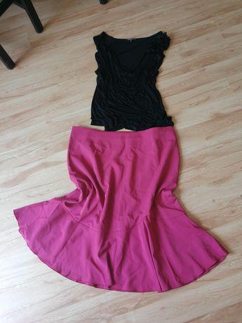 Zestaw spódnica i bluzka rozmiar 52