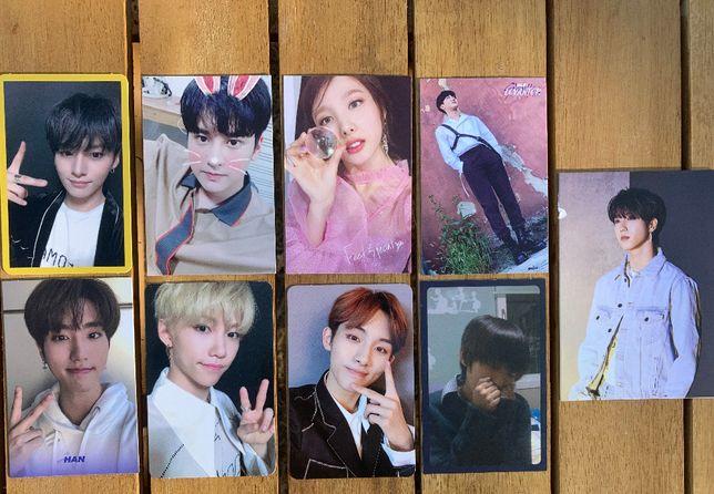 Kpop karty Stray Kids/Twice/Ikon/NCT127