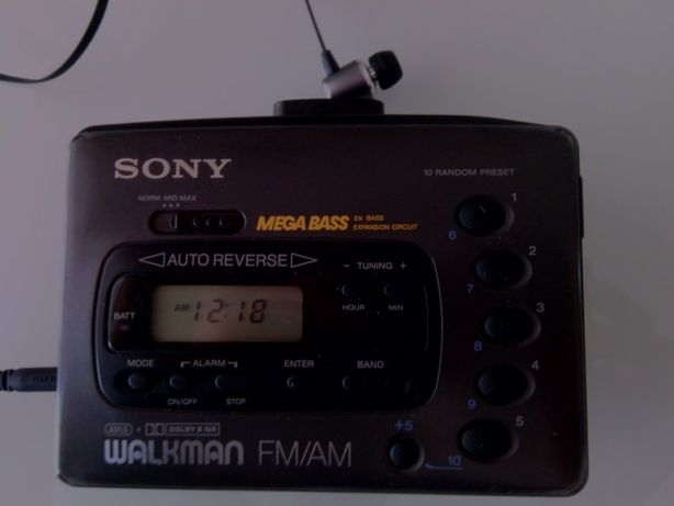 SUPER Walkman SONY mega bass auto reverse (VINTAGE COLLECTION).