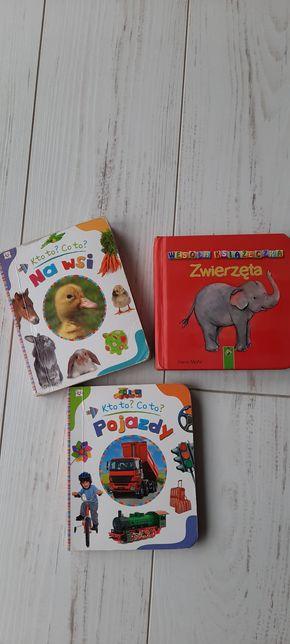 Książeczka książka zwierzęta pojazdy